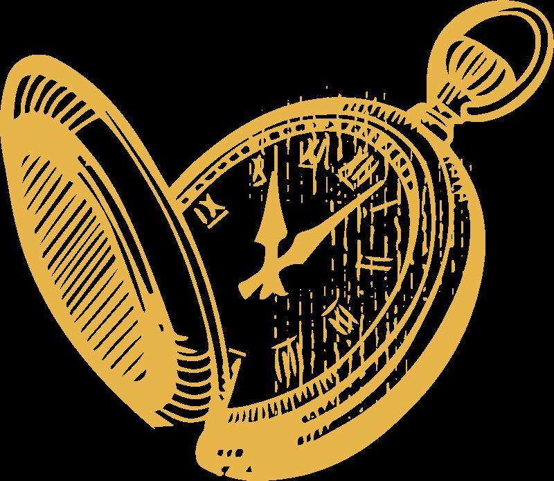 une montre à gousset